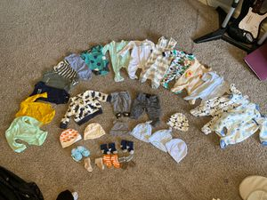 New born baby clothes for Sale in Phoenix, AZ
