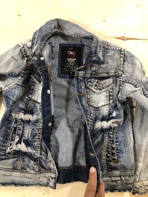 Denim Jeans jacket & denim jeans $80 for Sale in Brooklyn, NY