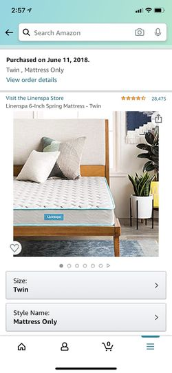 Twin mattress for Sale in Clairton,  PA