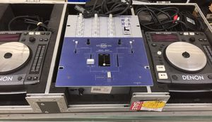 DJ set with 2 Denon DN-S1000 CD players and Stanton SK2F mixer for Sale in Rockville, MD