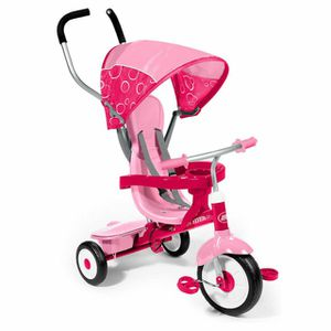 Radio Flyer 4-in-1 Girls Trike Tricycle Bike 811P Pink for Sale in Greenbelt, MD