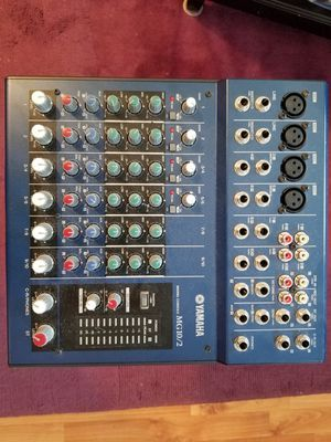 Yamaha mg10/2 mixer with power supply for Sale in Plainfield, IL