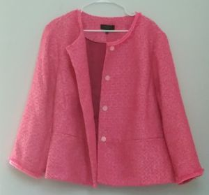 Talbots Plus Size Tweed Peplum Jacket New With Tags for Sale in Davie, FL