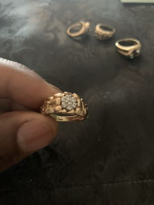All Real Gold 10k and 14k rings for Sale in Winter Hill, MA