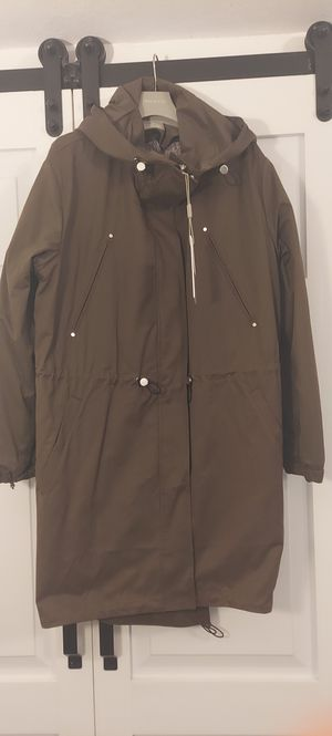 SOIA & KYO Women's Enza Army Green Parka Removable Quilted Lining Sz XL NWT for Sale in Miami, FL