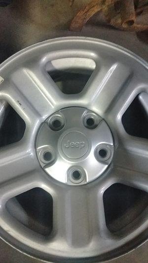 3 factory Jeep wheels for Sale in Rockvale, TN