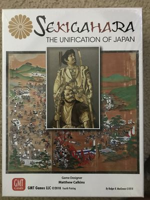 Board Game , Sekigahara for Sale in Arlington, VA
