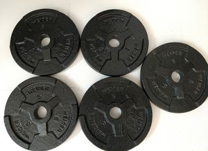 Weight plates for Sale in Sanger, CA