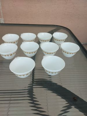 10 Corelle by CORNING Butterfly Gold Hook Handle Coffee Tea Cups for Sale in Delray Beach, FL