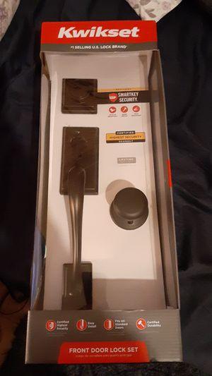 Kwikset Front Door Lock Set Retail $139.99 for Sale in San Antonio, TX