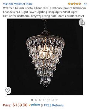 "New 14"" Crystal Chandelier for Sale in Norwalk, CA"