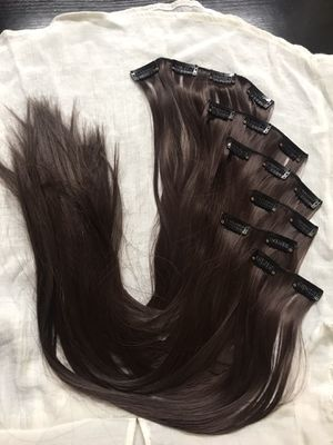 """22"""" 16 Clips hair extension clip in for Sale in Elizabethtown, KY"""