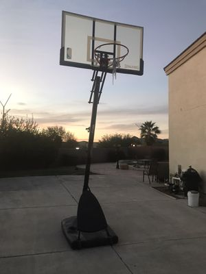 Spaulding basketball hoop for Sale in Buckeye, AZ