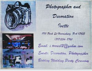 I do photograph for wedding, birthday, ceremony and private party for Sale in Penbrook, PA