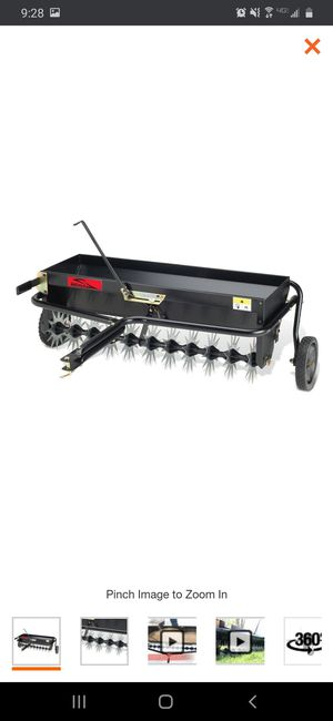 Brinly Tow Behind Lawn Seeder & Aerator for Sale in San Bernardino, CA