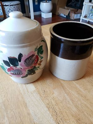 Vintage Ceramic Crocks for Sale in Gresham, OR