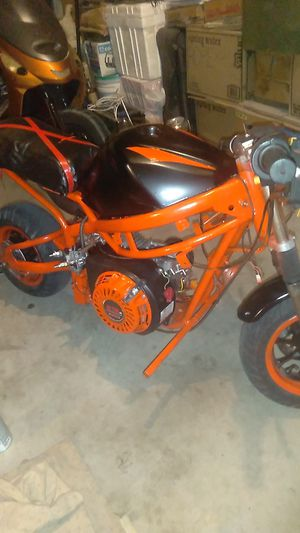 NEW***Got a pocket bike like this??***I made these from burned up rusted piles of nothing for Sale in Sacramento, CA