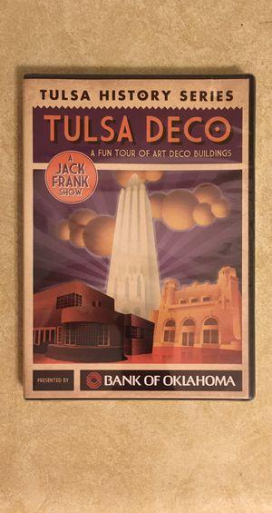 Tulsa Deco: A Fun Tour of Art Deco Buildings Documentary for Sale in Tulsa, OK