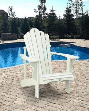 NEW Adirondack Chair for Patio Backyard Outdoors Spring Summer Special Deck Pool Lounger for Sale in Humble, TX