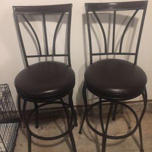 Dark Brown Bar Stools for Sale in McDonough, GA