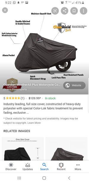 Kawasaki outdoor waterproof motorcycle cover for Sale in Dearborn Heights, MI