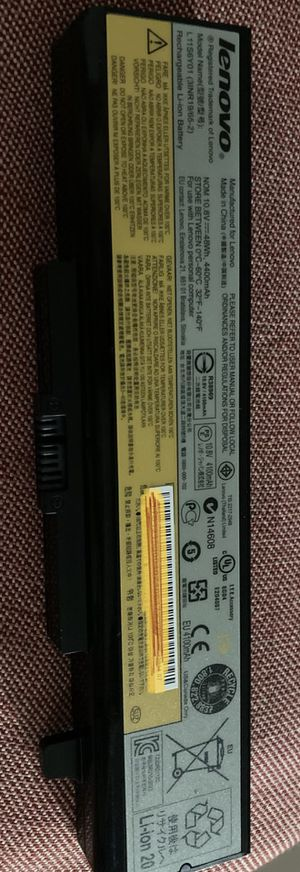 Lenovo laptop battery for Ideapad G510 for Sale in Voorhees Township, NJ