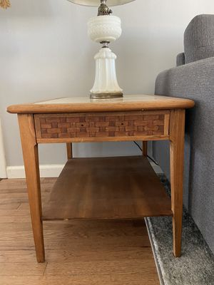 Vintage Mid Century End Table for Sale in Oceanside, CA