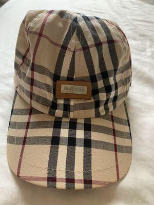Burberry cap for Sale in Boca Raton, FL