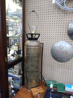 Fire Extinguisher Lamp for Sale in Hickory Creek, TX