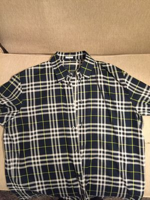 Burberry men shirt for Sale in Chicago, IL