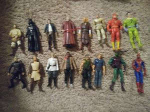 Mixed lot of action figures for Sale in Philadelphia, PA