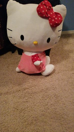 Meadium sized Hello Kitty plushie for Sale in Orlando, FL