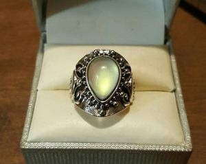 Vintage SS Genuine MoonStone Opal Ring. for Sale in Pawtucket, RI