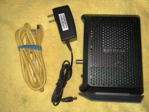 Netgear cable modem docsis 3.0 unlock for Sale in Chicago, IL