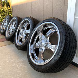 Rims and wheels for Sale in Hemet, CA