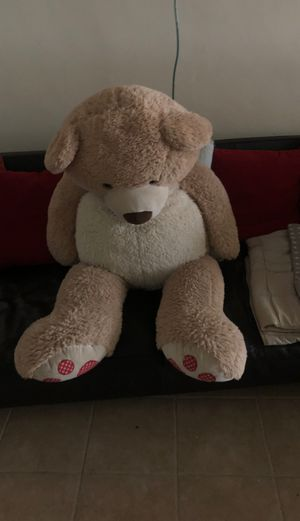 Large stuffed bear for Sale in Escondido, CA