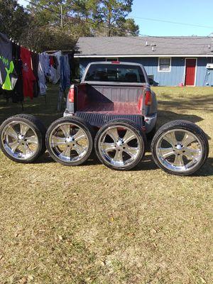 20s rims & tires for Sale in Soperton, GA