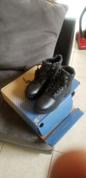 Steel toe work boots for Sale in Kissimmee, FL