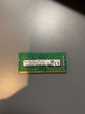 8Gb ddr4 laptop ram 2400 MHz for Sale in Lake Dallas, TX