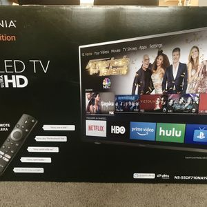 Insignia 55 Inch 4K Ultra HD TV Like New In Original Box for Sale in Irving, TX