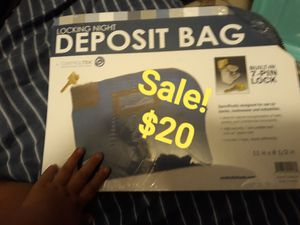 deposit bag for Sale in Los Angeles, CA