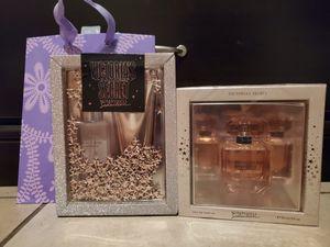 Victoria Secret Bombshell seduction perfume, lotion & mist set for Sale in Colton, CA