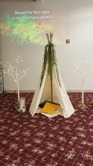 TWO 6 foot canvas teepees with 7 foot poles for Sale in San Marcos, CA