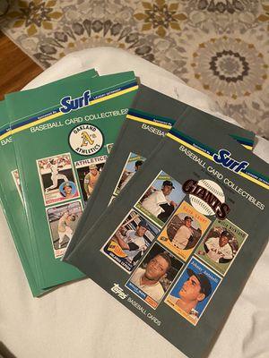 1988 baseball card books for Sale in San Leandro, CA