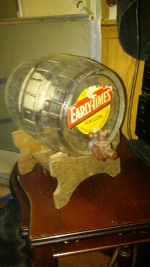 Early times bourbon barrel for Sale for sale  Tyler, TX