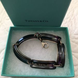 Tiffany & Co men's titanium and silver 8 in bracelet for Sale in St. Petersburg, FL