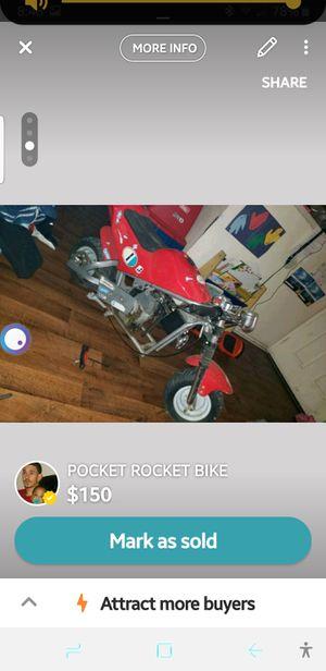 Pocket rocket bike for Sale in Hesperia, CA