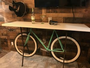 Shabby Chic Bicycle Martini Table for Sale in Phoenix, AZ