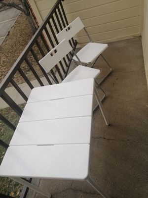 Folding Table and Chairs for Sale in Columbia, MO