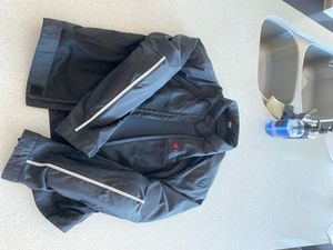 Dainese large vented textile motorcycle jacket for Sale in Denver, CO